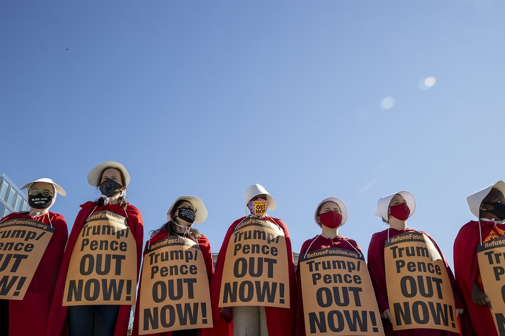 marcha de mujeres en EE. UU. contra Donald Trump