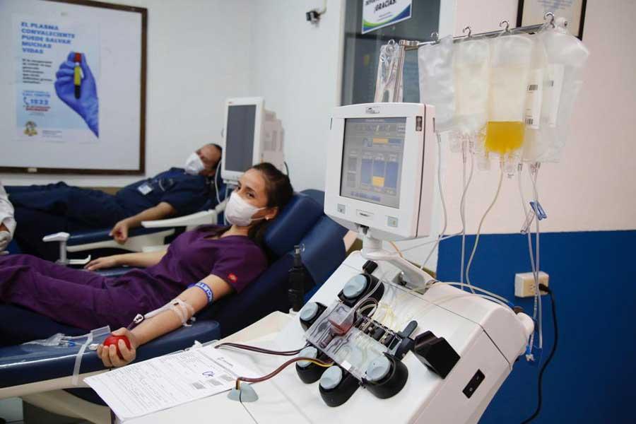 Inauguran módulo de donación de plasma de IGSS