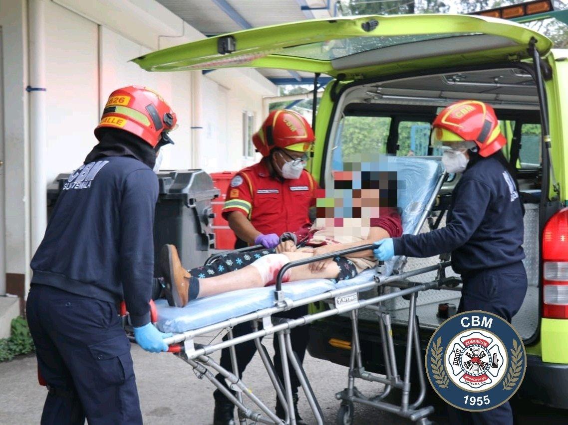 mujer herida en ataque armado en Villa Nueva