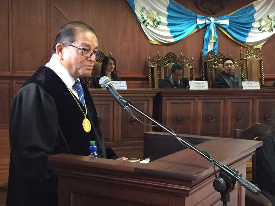 Magistrado Neftaly Aldana