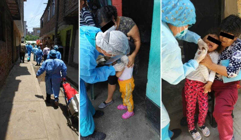 Difteria en Perú