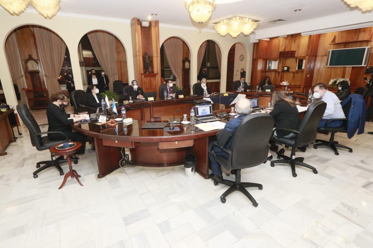 CSJ realiza pleno por elección de magistrados.