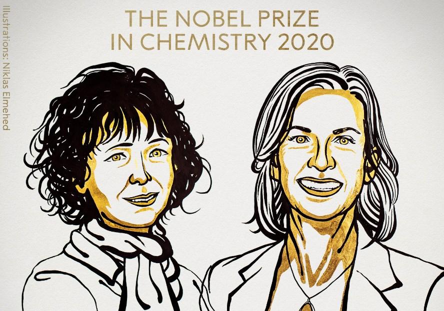 Emmanuelle Charpentier y Jennifer, ganadoras del Premio Nobel de Química 2020