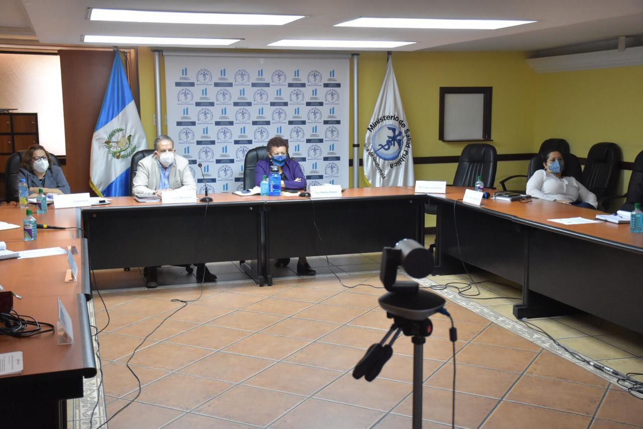 reunión del consejo de Salud