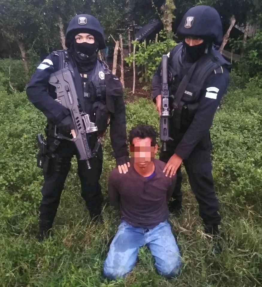 secuestrador capturado en Tiquisate, Escuintla