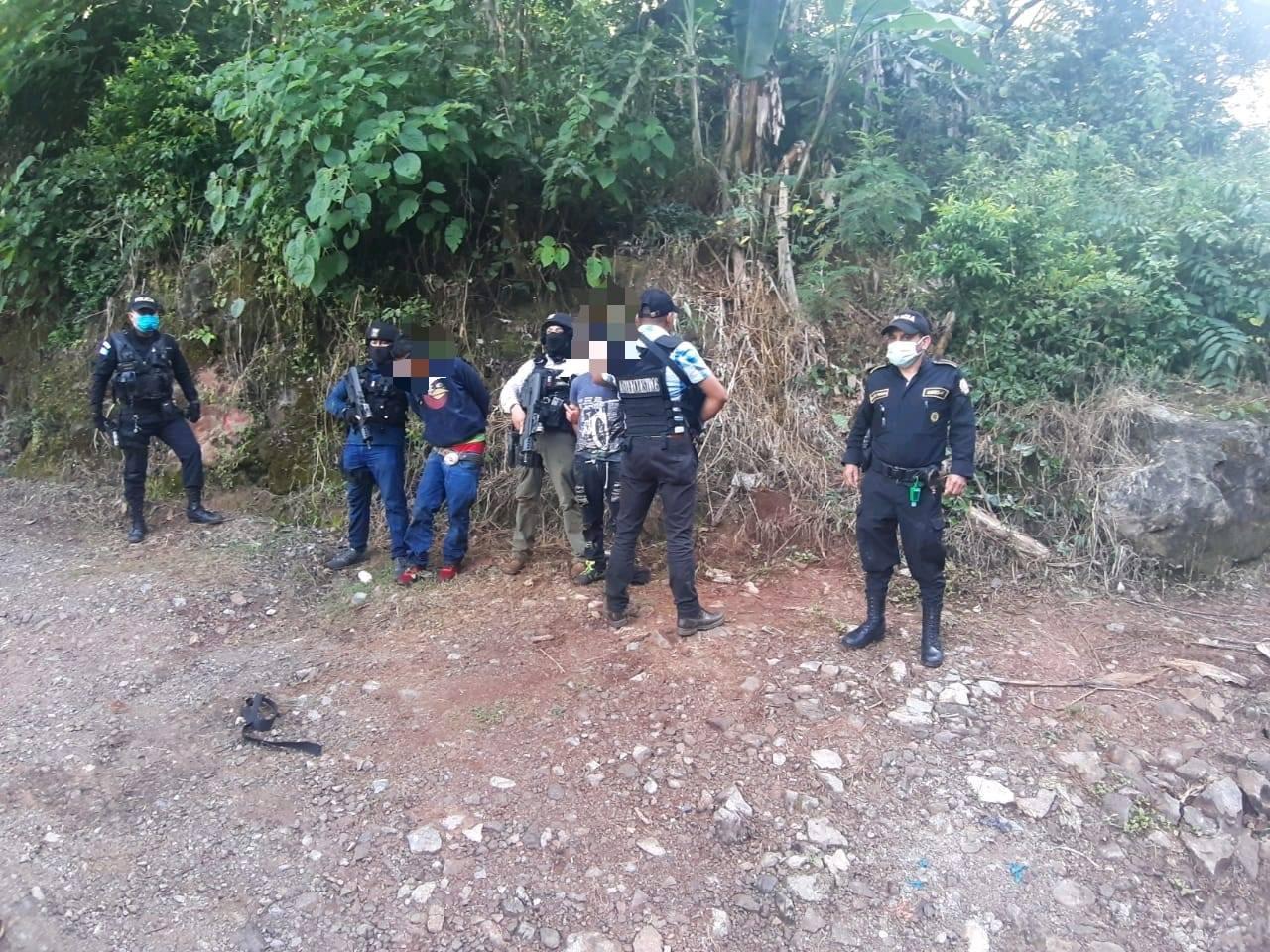 secuestradores capturados en Huehuetenango