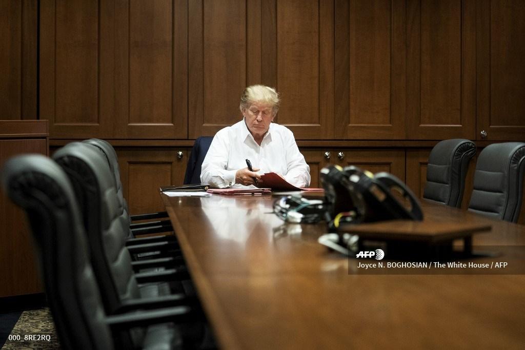 Donald Trump, contagiado de Covid-19