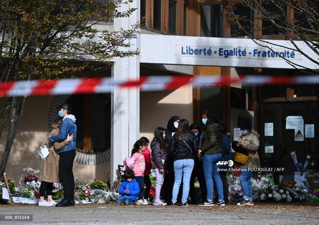 Profesor asesinado en Francia