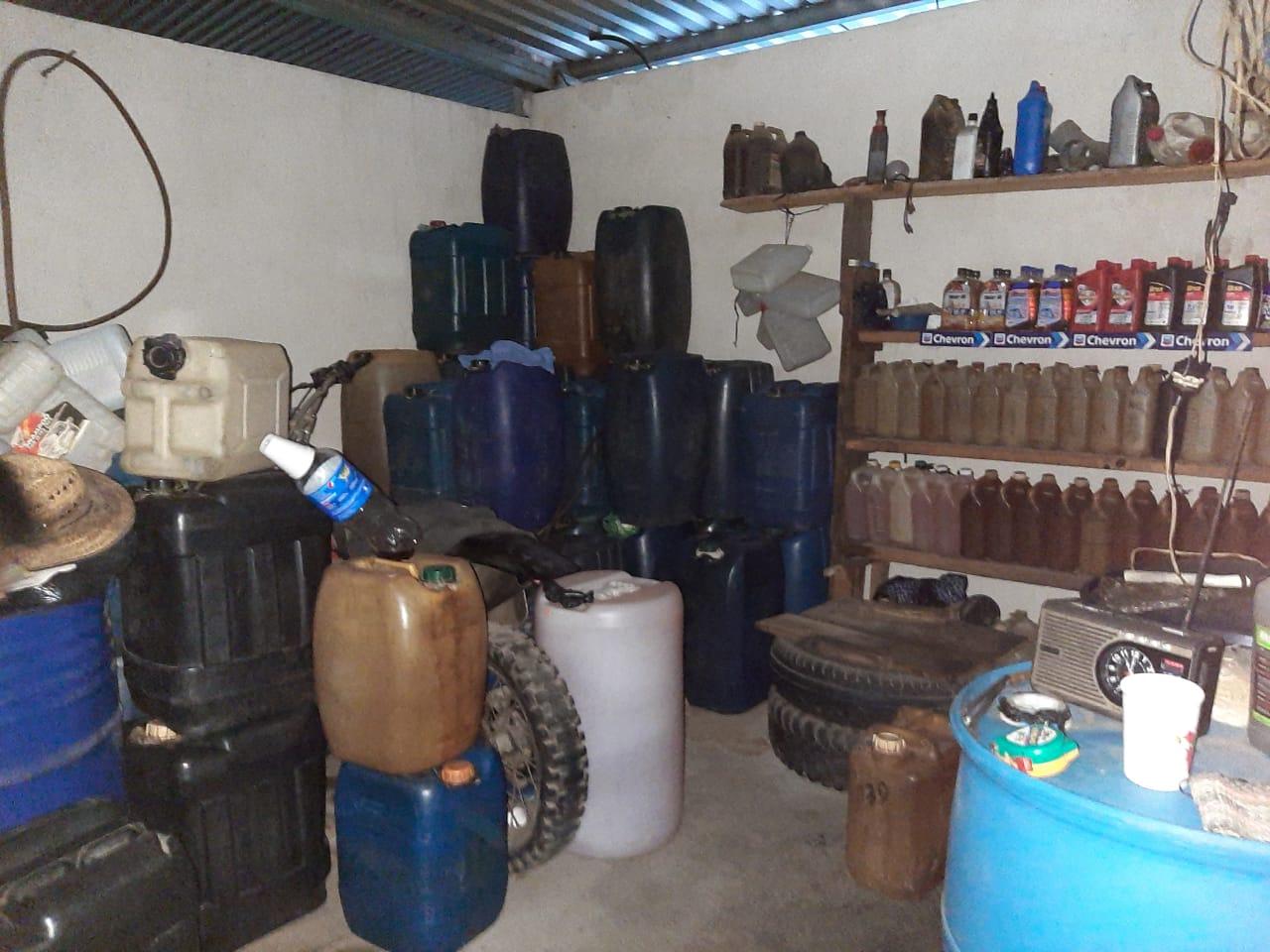 contrabando de combustible en Huehuetenango y Totonicapán