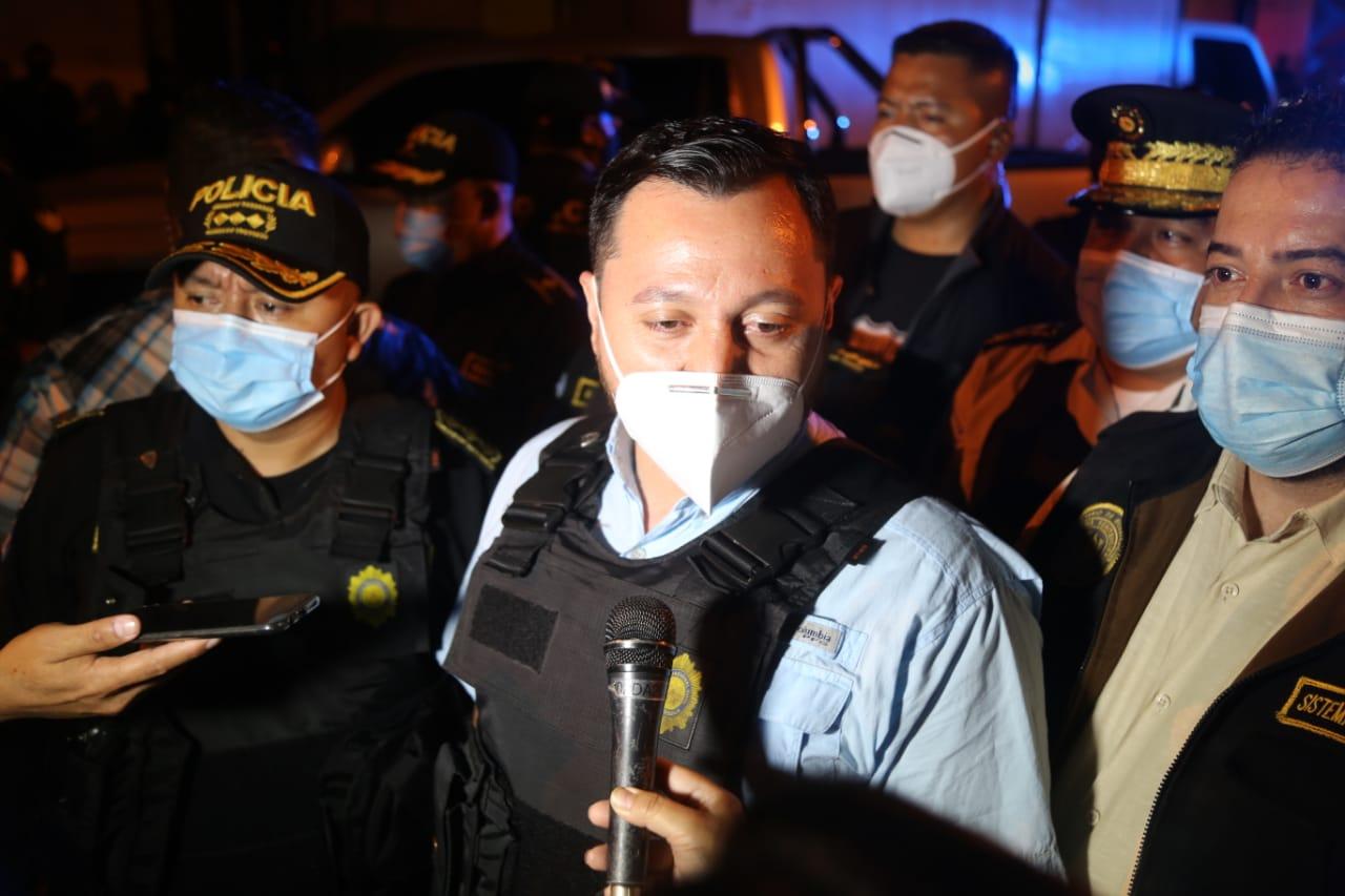 viceministro de Seguridad, Gendry Reyes
