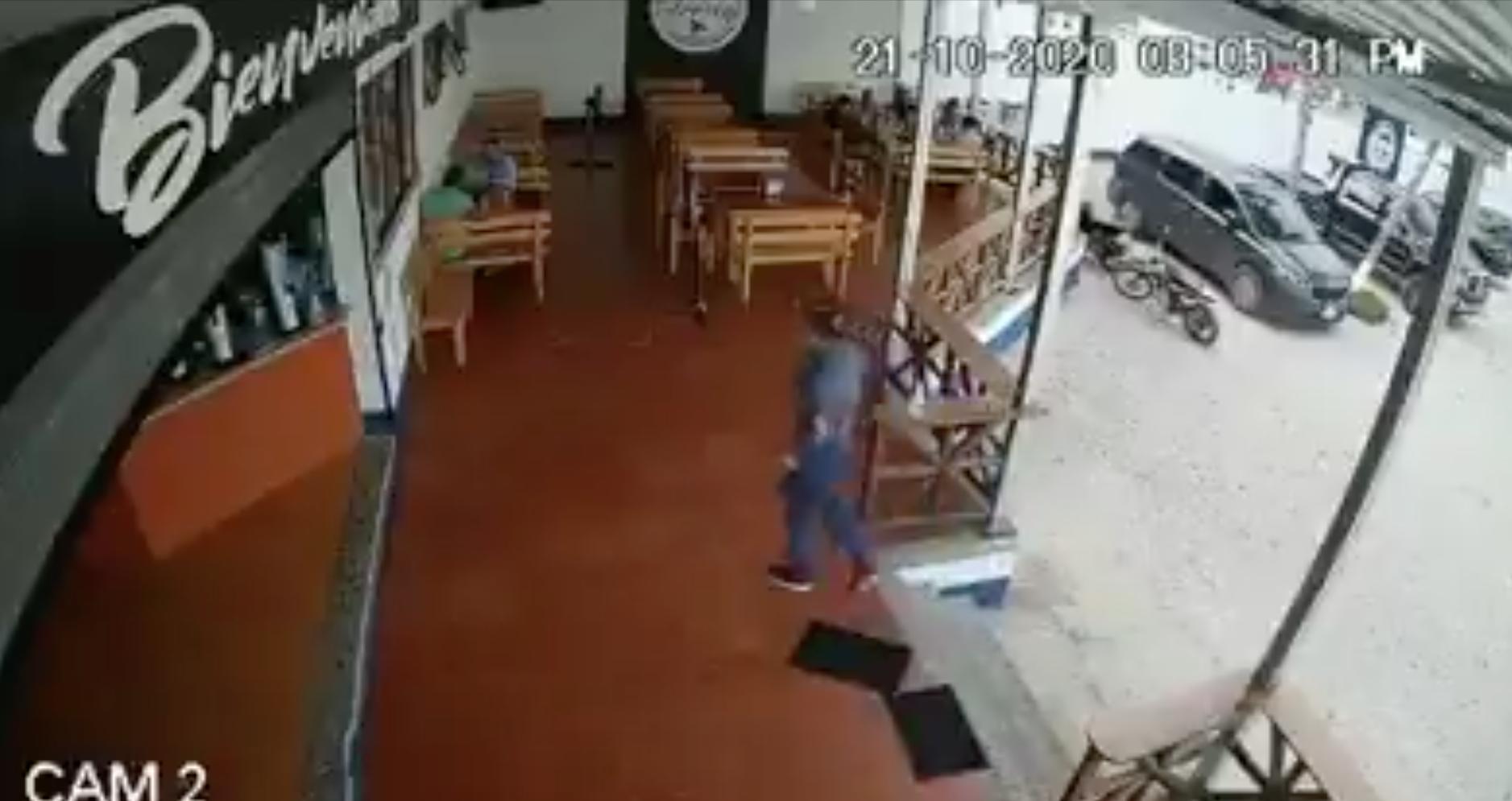 video del asesinato del juez Waldo Alvizurez