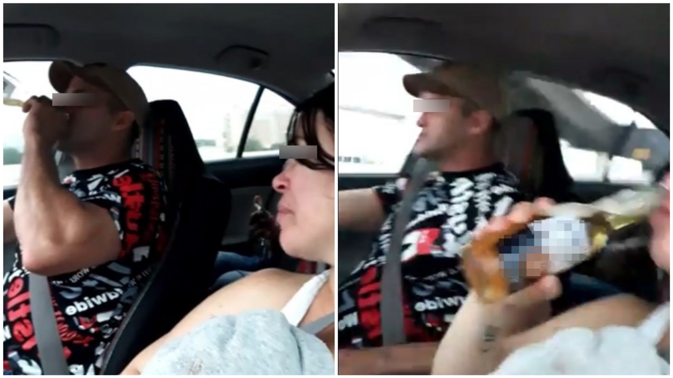 Transmitió en vivo mientras bebía y conducía; provocó fatal accidente