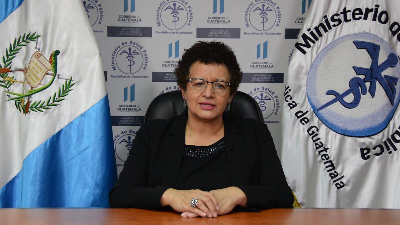 Amelia Flores, ministra de Salud, habla de la experiencia de Guatemala con el COVID-19.