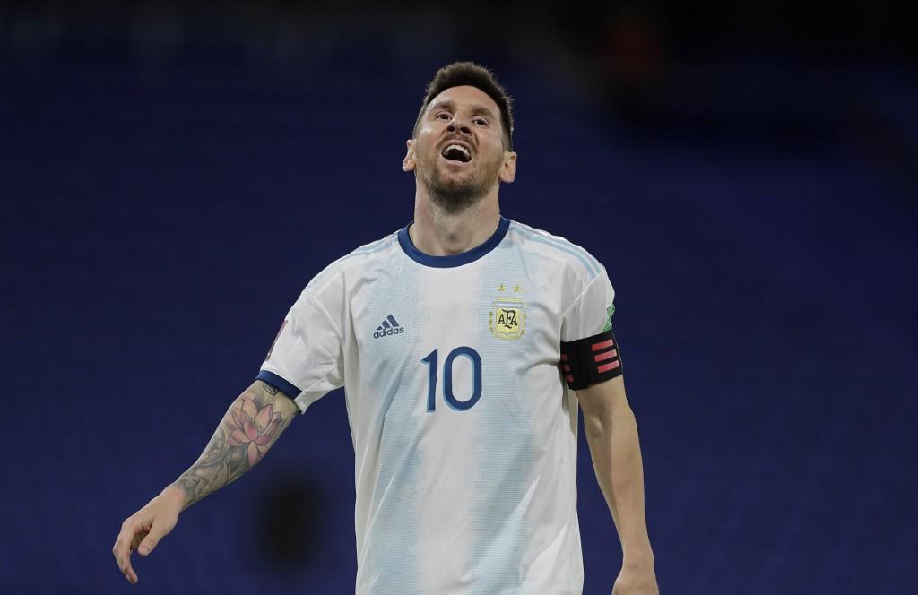 Argentina y Paraguay empatan 1-1