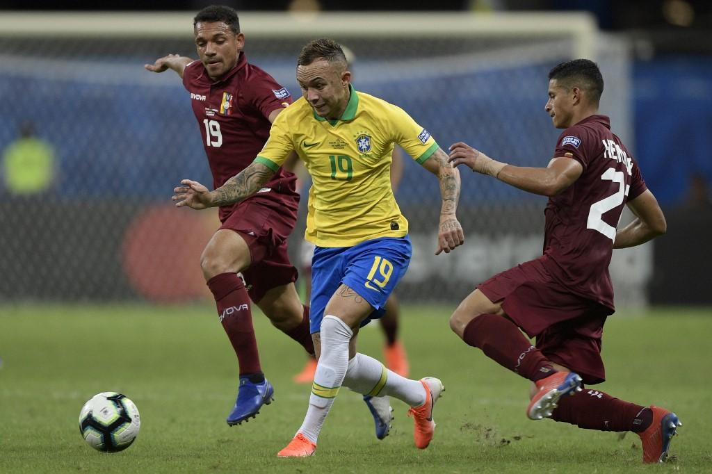 Brasil vs Venezuela, eliminatorias de Conmebol