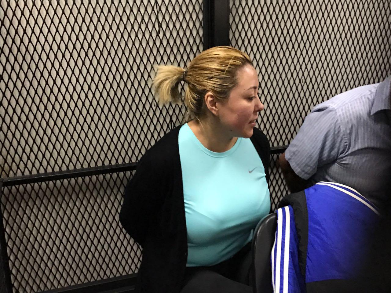 "Exdiputada Emilenne Mazariegos, procesada por el caso ""Chimacmán""."