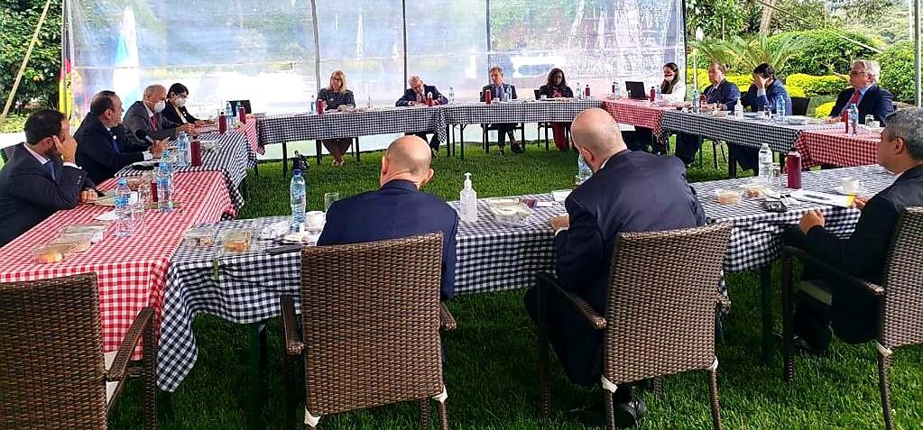 El G-13 dialoga con el presidente, Alejandro Giammattei, por la reciente crisis social.