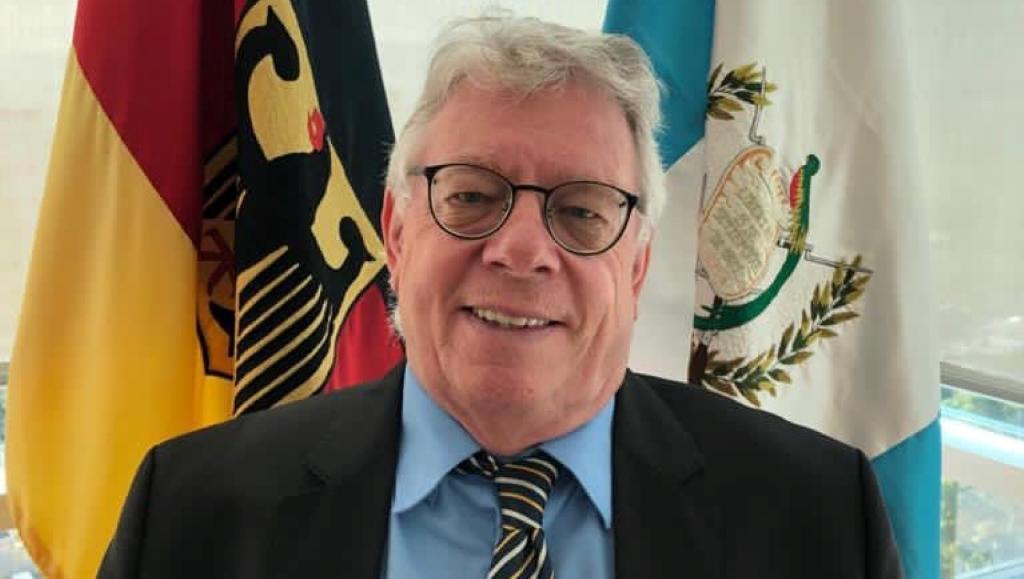 Harald Klein, embajador de Alemania en Guatemala, habla de la aprobación del presupuesto 2021.