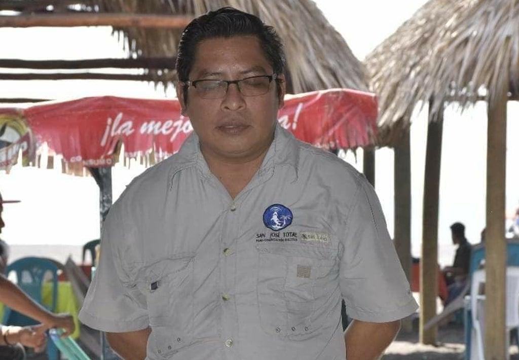 Periodistas de Escuintla rechazan violencia contra Mario Ortega, director de San José Total.