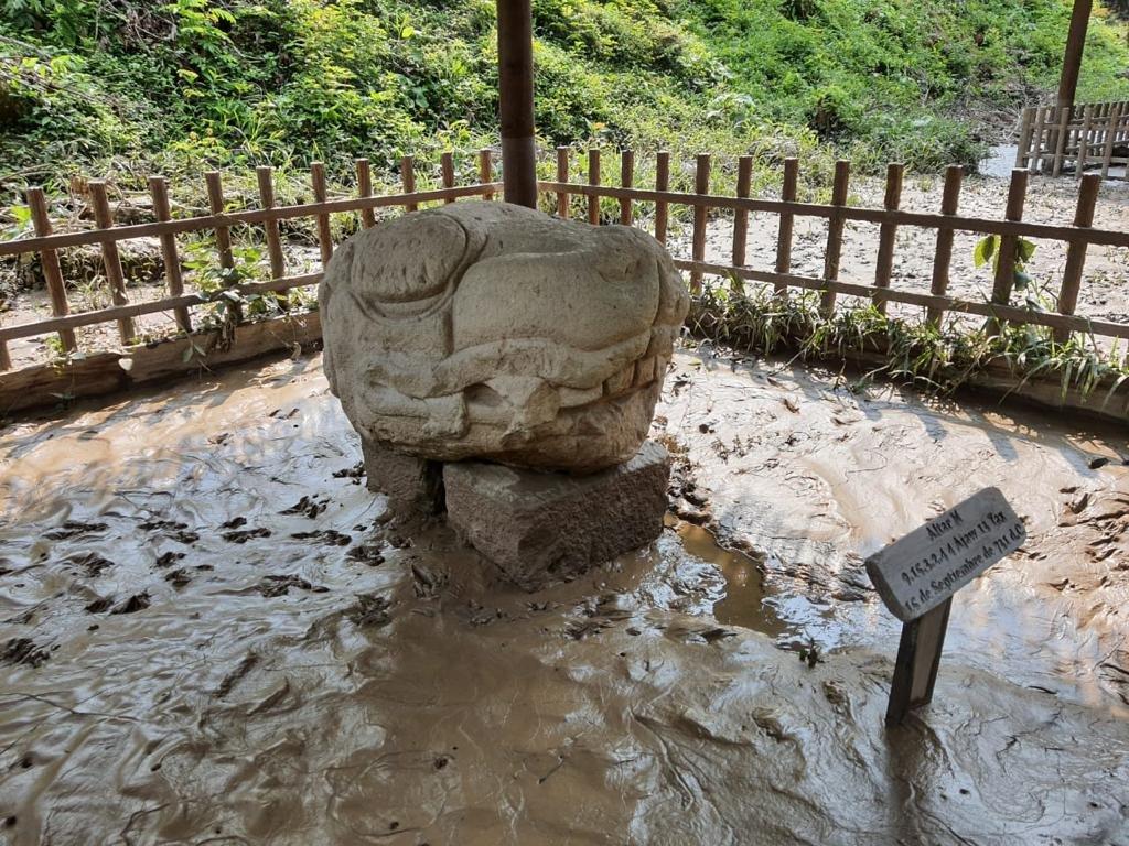 Sitio arqueológico de Quiriguá.