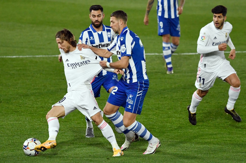 Real Madrid vs Alavés por La Liga