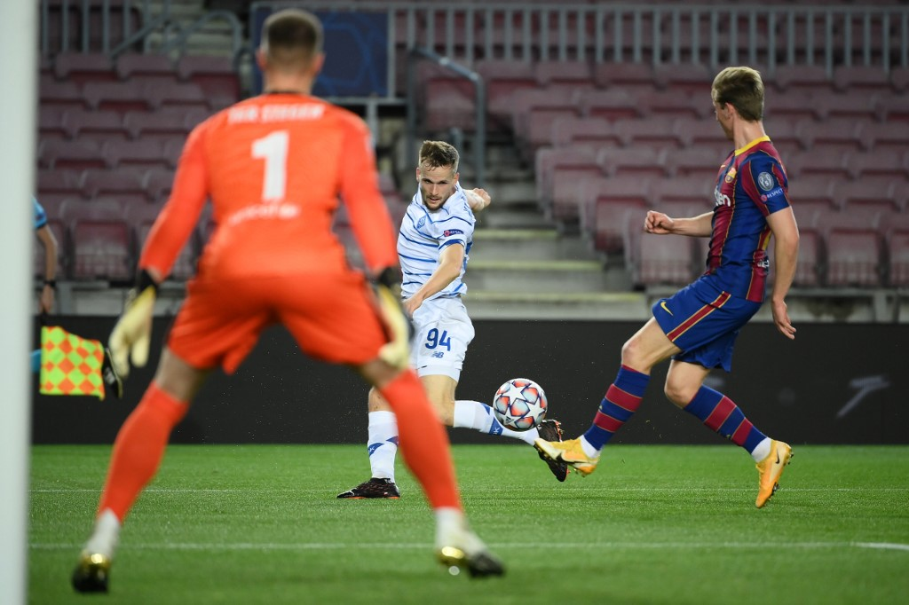 Barcelona vence al Dinamo de Kiev