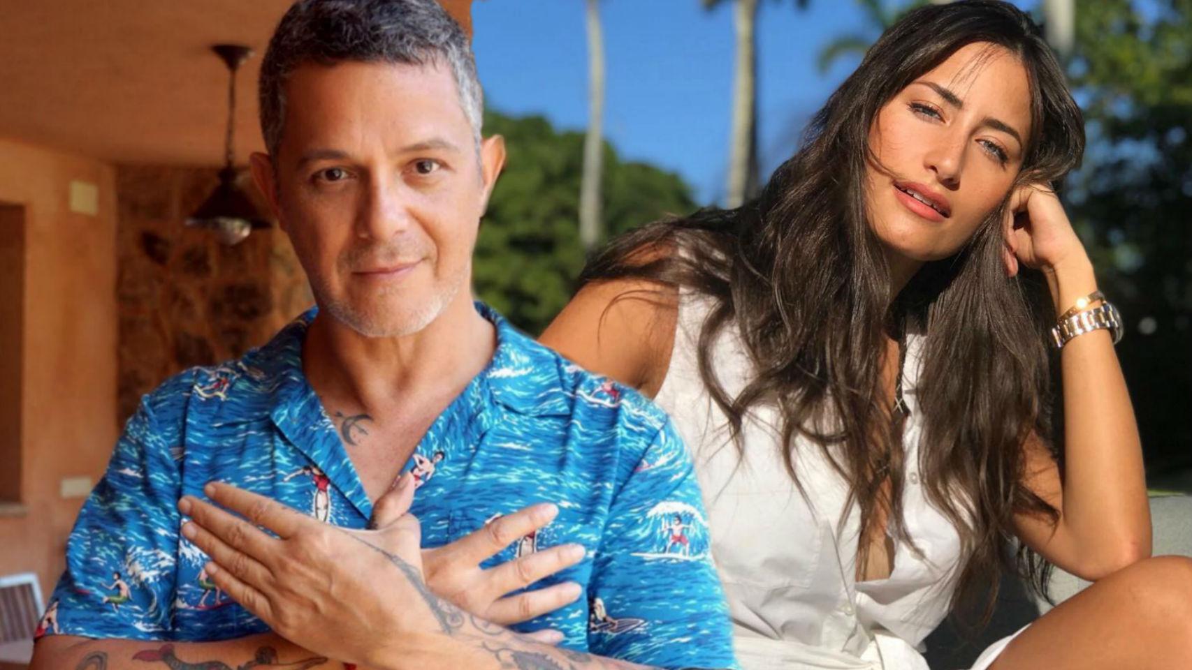 Alejandro Sanz y novia