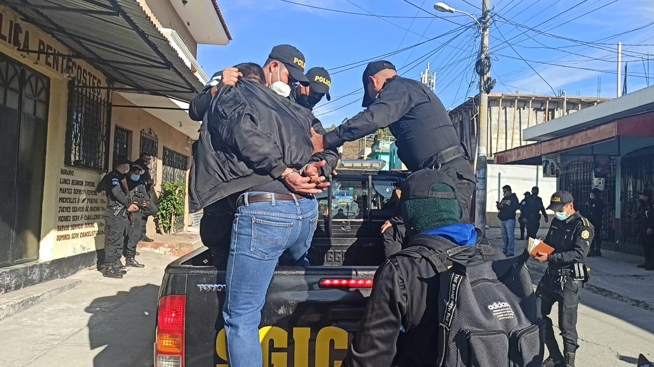 allanamientos contra extorsionistas y pandilleros