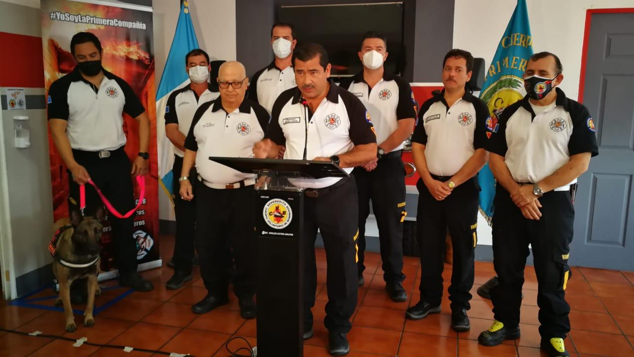 bomberos Voluntarios presentan informe de labores por Eta