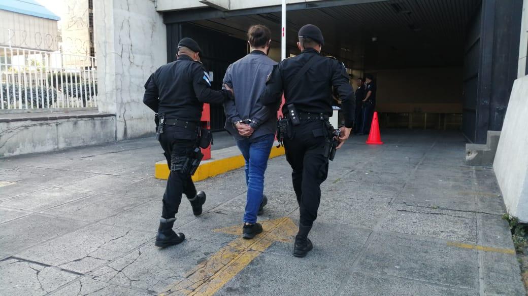 Byron José Berganza, extraditable capturado