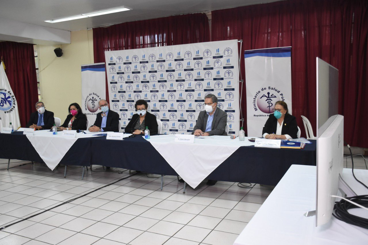 conferencia ministerio de Salud sobre Covid-19 y lluvias