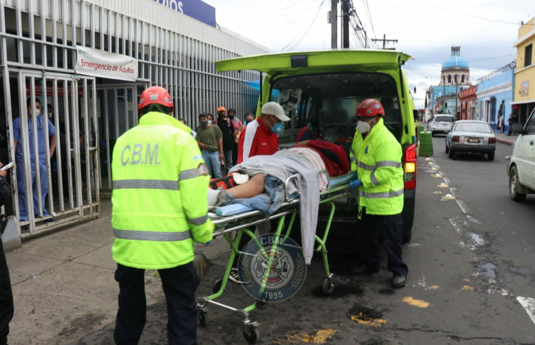 Una persona muere soterrada en ruta antigua a Chinautla