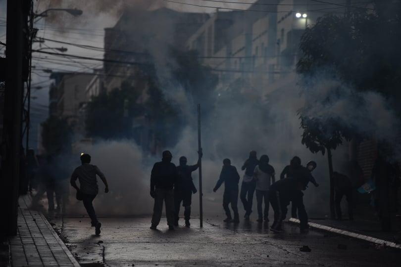 PDH afirma que la Policía abusó en el uso de la fuerza en manifestaciones ciudadanas.