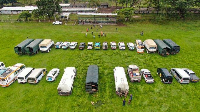 El Salvador envía alimentos a damnificados de Eta en Guatemala