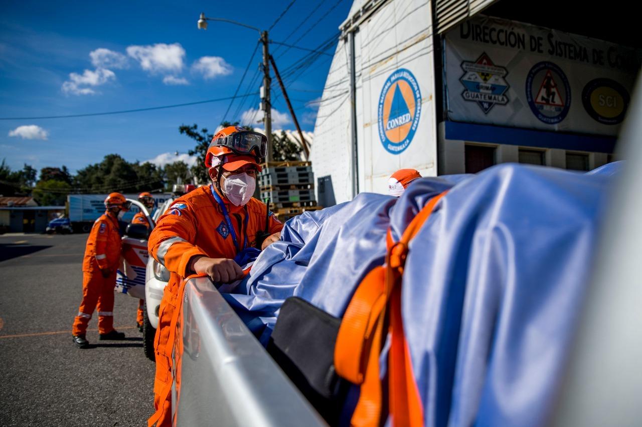 Conred envía equipos de respuesta por huracán Iota