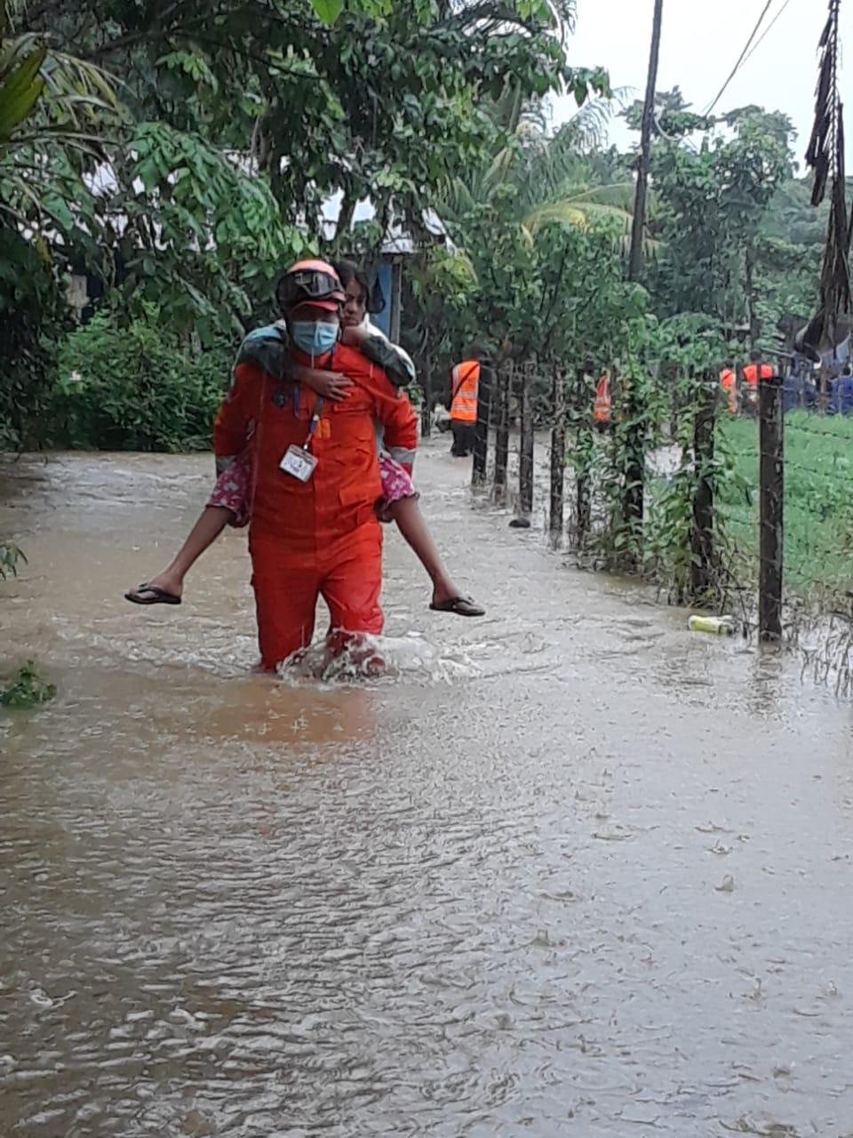 río Motagua se desborda en Izabal