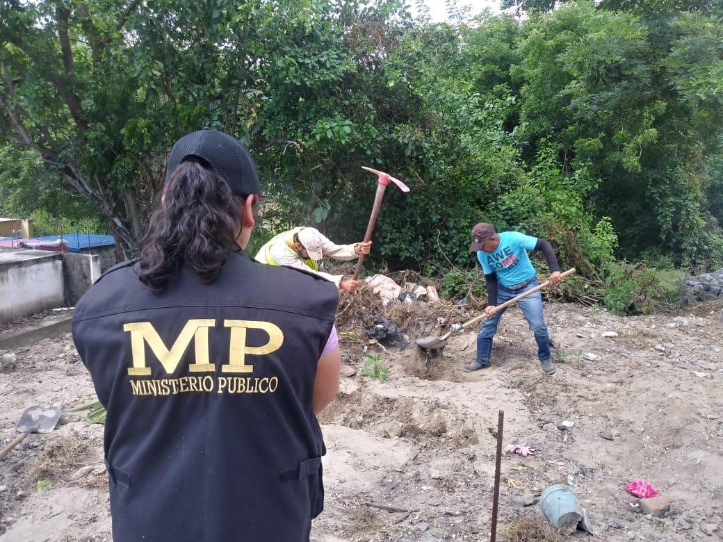 exhumaciones en El Progreso por caso Siekavizza