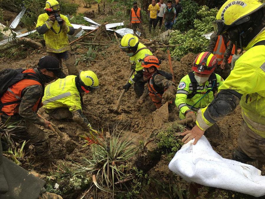 Fallecidos en aldea Quejá