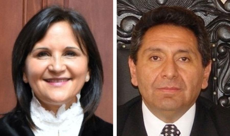 Gloria Porras y Francisco de Mata Vela