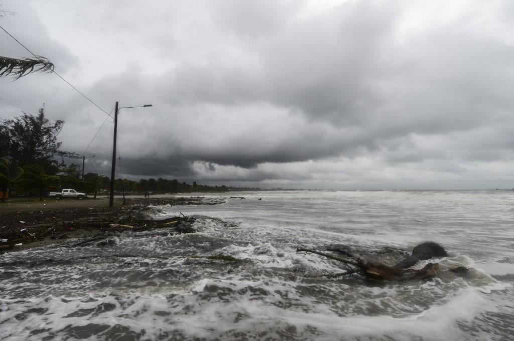 Paso de huracán Eta por Honduras