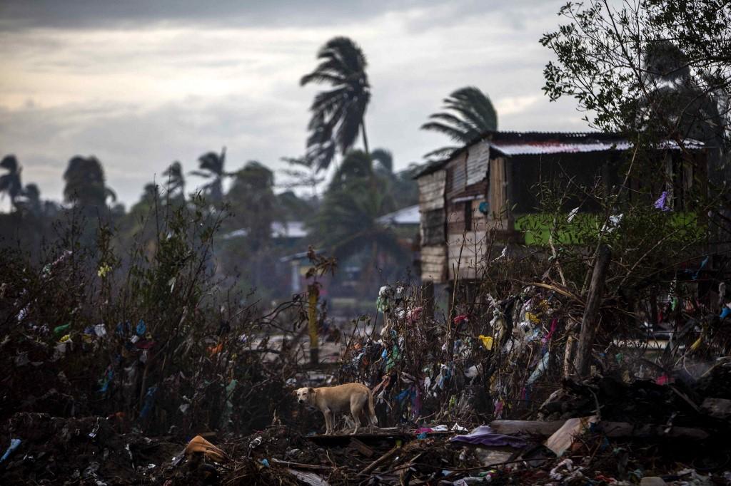 Destrucción en Nicaragua