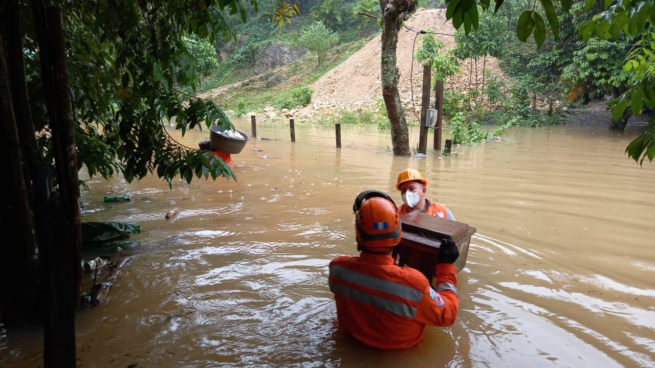 inundación en Alta Verapaz