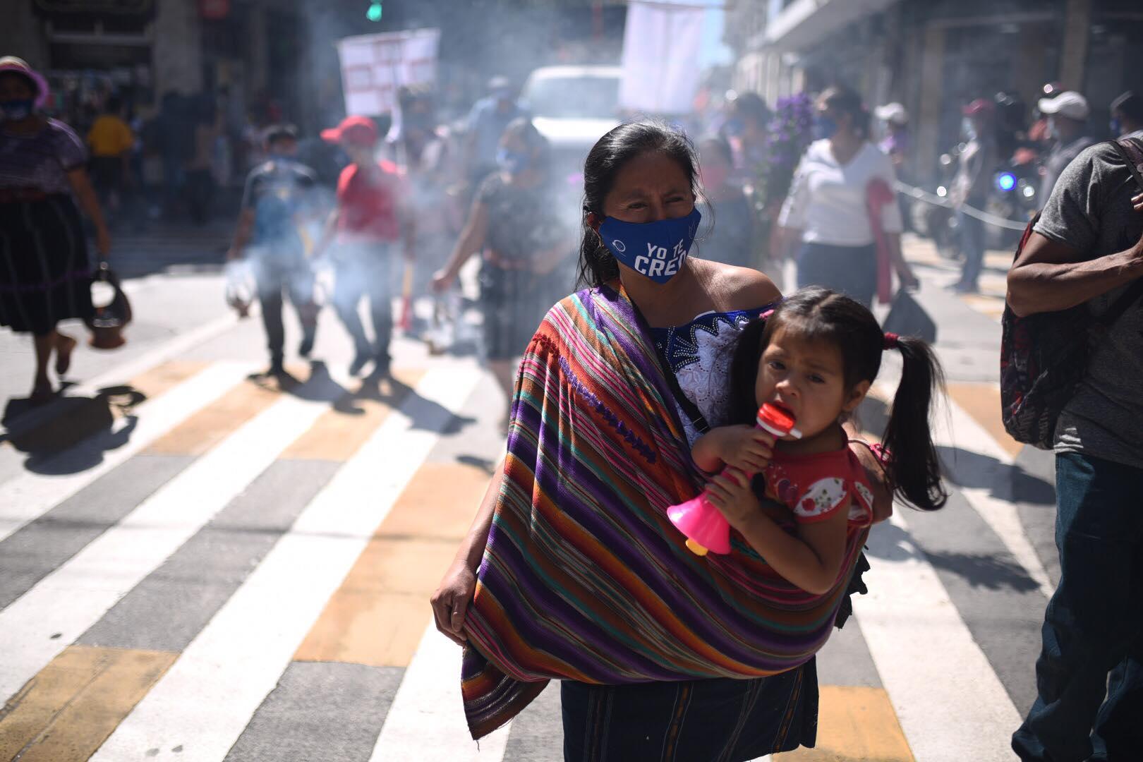 marcha por el Día Internacional de la Eliminación de la Violencia contra la Mujer