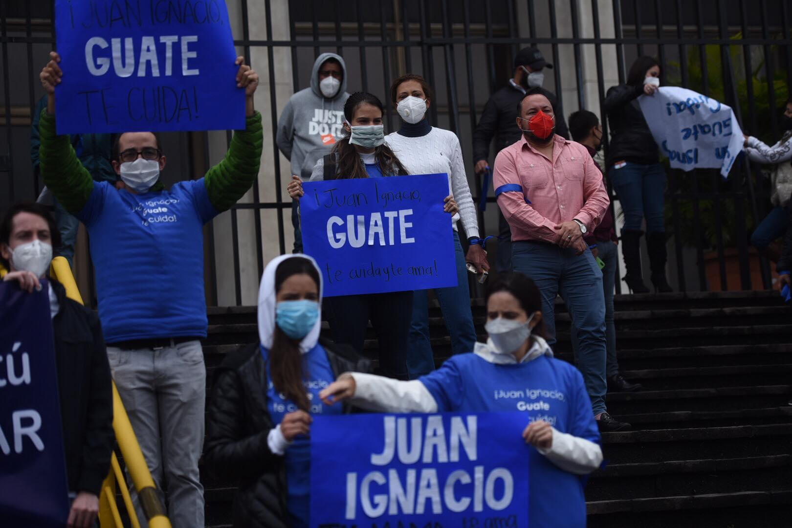 marcha por Juan Ignacio