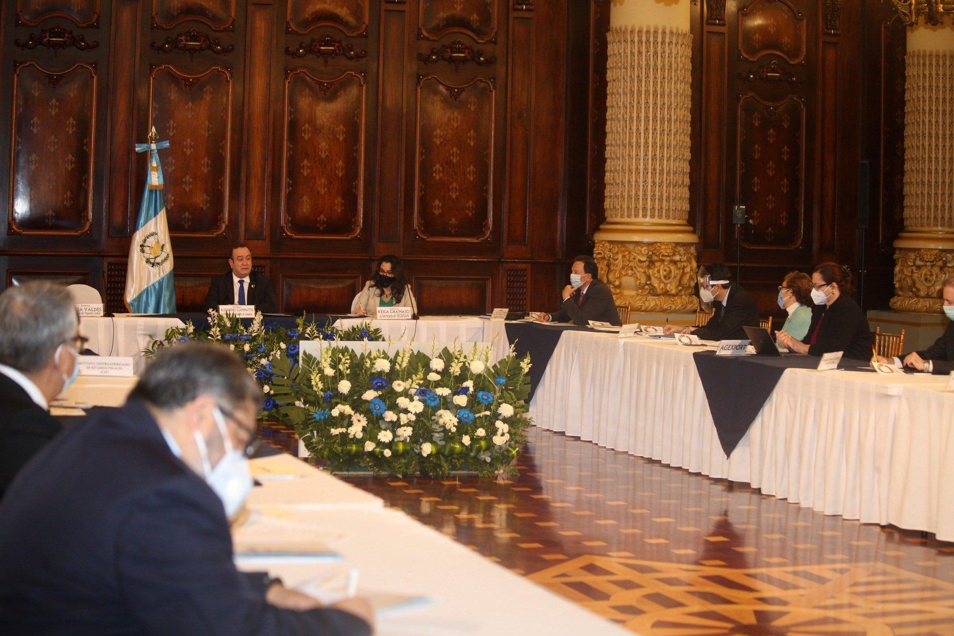 mesas de diálogo por presupuesto 2021