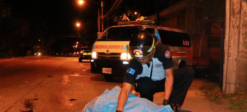 motorista muere en accidente en avenida Petapa