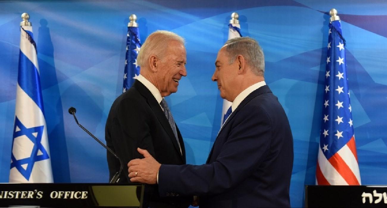 Joe Biden y Benjamin Netanyahu
