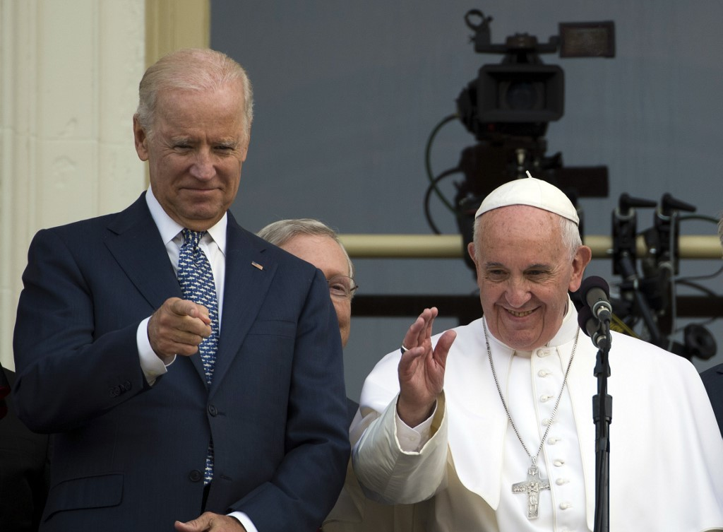 Joe Biden y el papa Francisco