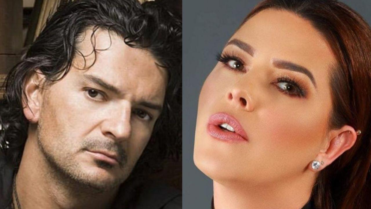 Ricardo Arjona y Alicia Machado