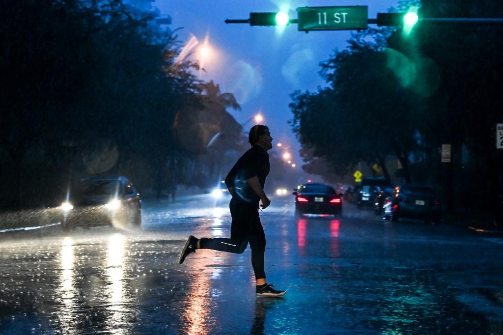 Tormenta tropical Eta en Florida